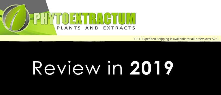 Phytoextractum Review in 2019