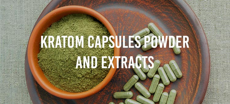 How to take Kratom capsules powder and Extracts